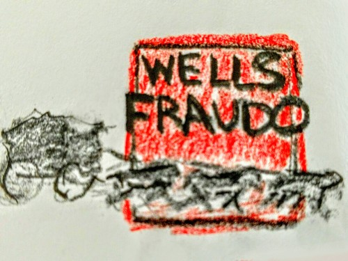 Tuesday 9/27 - Lee Ellis, ethicist - Wells Fraudo and the banking culture of cheaters