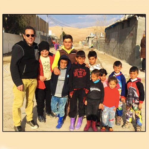 Tuesday 2/28 - Dr. Andrew Lustig - Global Outreach Doctors - Providing medical care for refugees from the Battle for Mosul