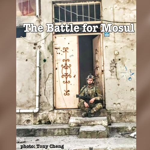 Monday 04/10 – Tony Cheng – Reporting from Mosul