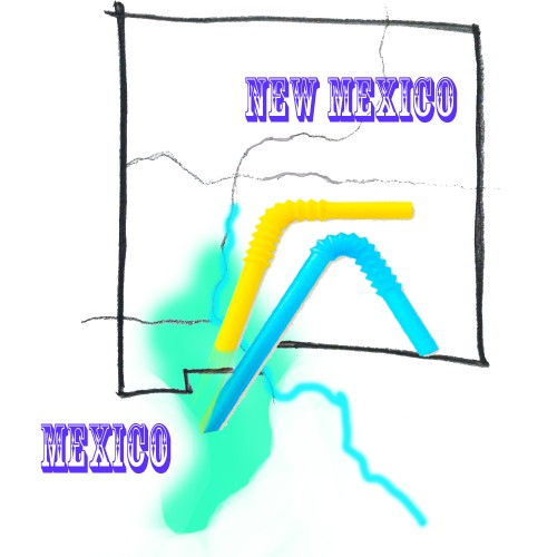 Who Gets the Water in a Cross-Border Aquifer?  Who has the Biggest Straw? - Lauren Villagran - Searchlight NM - Albuquerque Journal - Wednesday 7/19