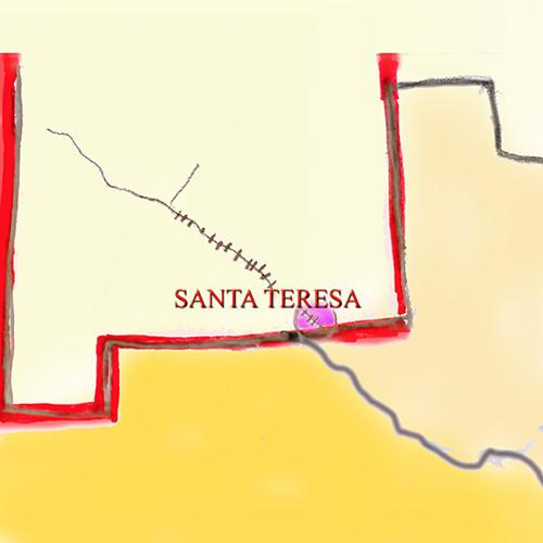 Santa Teresa, NM built on NAFTA, sweats it out in the desert. - Sarah Tory - High Country News - Thursday 2/22
