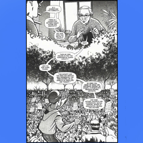 Political philosophy in a graphic novel format…expanding the audience without reducing the subject. - Jeffrey Wilson - Author, The Instinct for Cooperation - Thursday 7/19