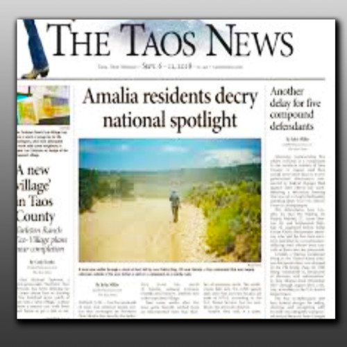 A kidnapped child's life is at stake, but the FBI plays a waiting game. - John Miller - The Taos News - Monday 09/24