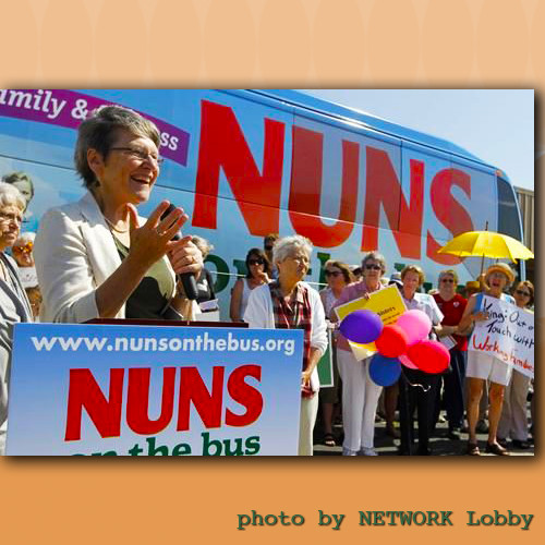 Sister Simone Campbell - Nuns on the Bus