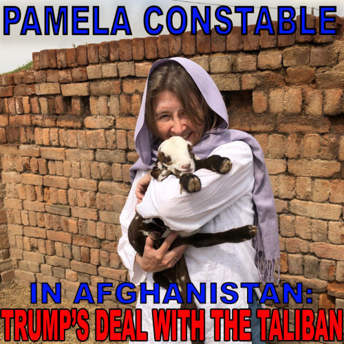 Pamela Constable, Washington Post - Peace with the Taliban?